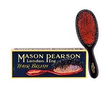 Mason Pearson BN2 Junior Bristle & Nylon Hairbrush – Dark Ruby - Shipped from UK
