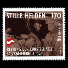 Austria 2016 - Unsung Heroes Saving Precious Works of Art 1945 War - Sc 2635 MNH