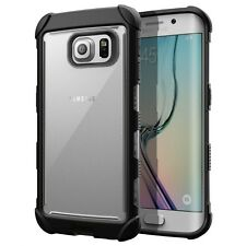 Poetic Affinity Rugged Shockproof Hybrid Case for Samsung Galaxy S6 Edge Black