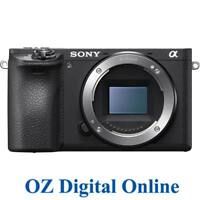 NEW Sony A6500 Body Black Mirrorless 24.2MP 4K Full HD Digital Camera 1YrAuWty