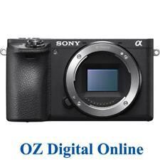 NEW Sony A6500 Body Black Mirrorless 24.2MP 4K Full HD Digital Camera 1YrAuWty