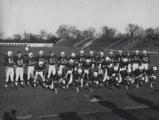 1950 CFL Winnipeg Blue Bombers Team Picture Black & White 8 X 10 Photo Picture