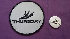 THURSDAY Promo Badge & Patch