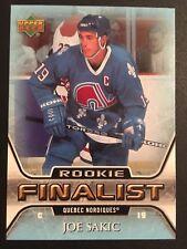 Joe Sakic 2005/06 NHL Finalist Rookie Hockey Card #86