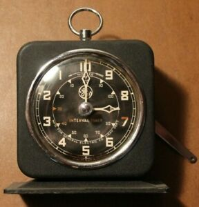 Vintage GE X-Ray Room Timer for Parts or Repair 1955