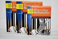 McGraw Hill 3rd Gr EVERYDAY MATH CCSS Curriculum BOOKS Homeschool Set