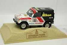 Norev Presse Paris Dakar 1/43 - Mitsubishi Pajero 1985