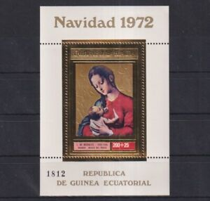 J464. Equatorial Guinea - MNH - Art - Paintings - Gold