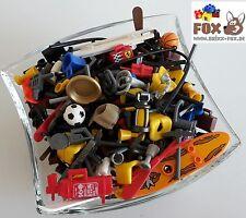 [BF5003] Lego Figurenzubehör 50x für Mini-Figs Waffen Werkzeuge City Space
