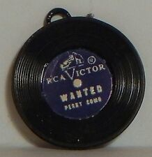 "VTG RECORD GUMBALL CHARM ""WANTED"" PERRY COMO ""THE TOUCH OF GOD'S HANDS"" E.ARNOLD"