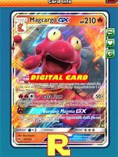 Magcargo GX - Regular Art - for Pokemon TCG Online (DIGITAL ptcgo in Game Card)