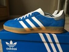 Adidas Gazelle Indoor Blue White Gum Size 9 80s Retro Football Casuals Deadstock