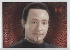 1996 SkyBox 30 Years of Star Trek Phase 2 Doppelgangers #F6 Lore Data Card 2f0