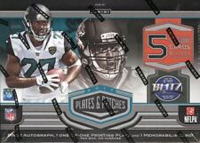 2017 PANINI PLATES & PATCHES FOOTBALL HOBBY BOX BLOWOUT CARDS