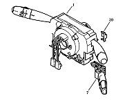 Com 2000 Com 2005 commodo Delphi Peugeot 307 SW Break CC 96660120XT 96660120