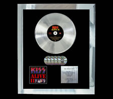 KISS ALIVE II  MULTI (GOLD) CD PLATINUM DISC LP VINYL