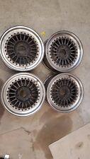 3teilige MTi Felgen 7x15 Zoll ET18 5x114,3 BBS RS RM RF OZ Mito Futura Alu HTN