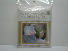 New Clear Plastic Outdoor Patio Chair Cover