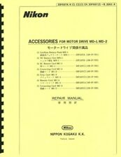 Nikon Accessories for MD-1, MD-2 Motor Drive Reprint