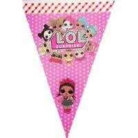 LOL Surprise Dolls Birthday Banner 2.5M Party Supplies Happy Birthday