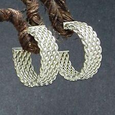 Tiffany & Co. Somerset Hoop Earrings in Sterling Silver