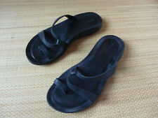 CHACO TOE POST STRAP  SANDALS UK 4.5 5 BLACK W7 SEE MEASUREMENTS
