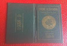 VERY RARE SEASON TICKET BOOK - CREWE ALEXANDRA - 1938- 1939 - ONLY A FEW EXIST