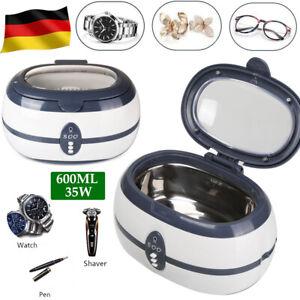 Ultraschallgeräte Cleaner Reiniger Ultraschallreinigungsgerät Brillen Schmuck DE