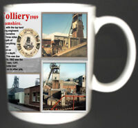 BLIDWORTH COLLIERY COAL MINE MUG LIMITED EDITION GIFT MINER MANSFIELD NOTTS PIT