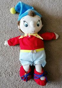 Vintage NODDY doll plush soft toy 12 inches tall