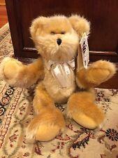 "PBC Tagalongs 12"" Plush Brown Shaggy Bear Cub Stuffed Toy Beanbag Feet & Bottom"