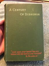 New listing A Century Of Dishonor 1890 Printing Native American Rights Helen H Jackson