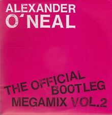 "7"" alexander o 'neal The Official Bootleg Megamix vol. 2 (innocent) 80`s CBS"