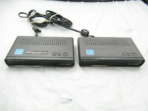 NO REMOTE Lot of 2 Digital Stream Dolby DTV Converter Box Only DTX9950