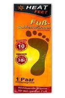 1 Paar Fußwärmer Einheitsgröße | Thermopad Schuhe | Schuhheizung | Schuhwärmer