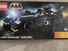 Lego Batman 40433 - 1989 Batmobile Limited Edition New & Sealed *slight damage*