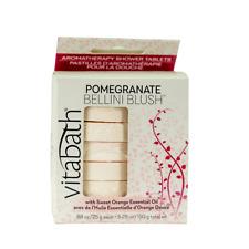 Vitabath Pomegranate Bellini Blush Aromatherapy Shower Tablets 5.29 Ounces
