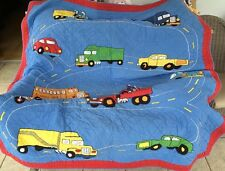 The Company Store Twin Boys Quilt Vehicles