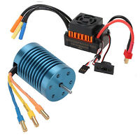 Rc Car Brushless Esc Motor For Redcat Volcano Cyclone Everest Blackout Tornado