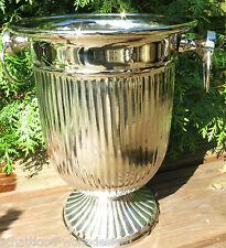 Weinkühler Sektkühler Champagnerkühler Silberfarben Alu Vernickelt elegant