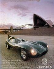 Christie's Motor Cars & Power Boats Riva Runabout Brabham Elfin Bugatti Lombard