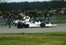 Guy Edwards F1 driver 1970's Grand Prix signed Hesketh 308