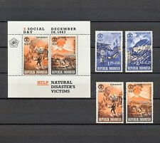 RZAB 145 INDONESIA 1967  MNH SUPERB DISASTER