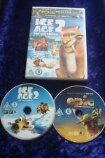 DVD.ICE AGE 2 MELTDOWN CLASSIC ANIMATED.KIDS.SCRAT.SID.UK REGION 2 EPIC PEEK
