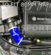 VAUXHALL ASTRA H 80MM MAF MK5 888 1.9 CDTi AIR INTAKE INDUCTION SILICONE HOSE