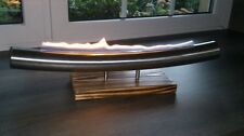 Tischfeuer / Mozart Ethanol Kamin Dekorfeuer Edelstahl outdoorfeuer edlem Design
