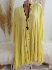 Superposé Robe Tunique Long shirt 44 46 48 50 52 L xl xxl 3xl Pull chemisier