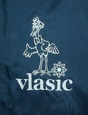 vtg VLASIC PICKLES JACKET Nylon Windbreaker Coat STORK MASCOT Dunbrooke PLA-JAC