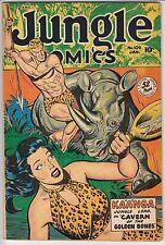 Jungle Comics #109 F+ VERY SOLID COPY !