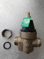 "Water Pressure Regulator, Reducing Valve, Standard Valve Type, 3/4"" Pipe Size"